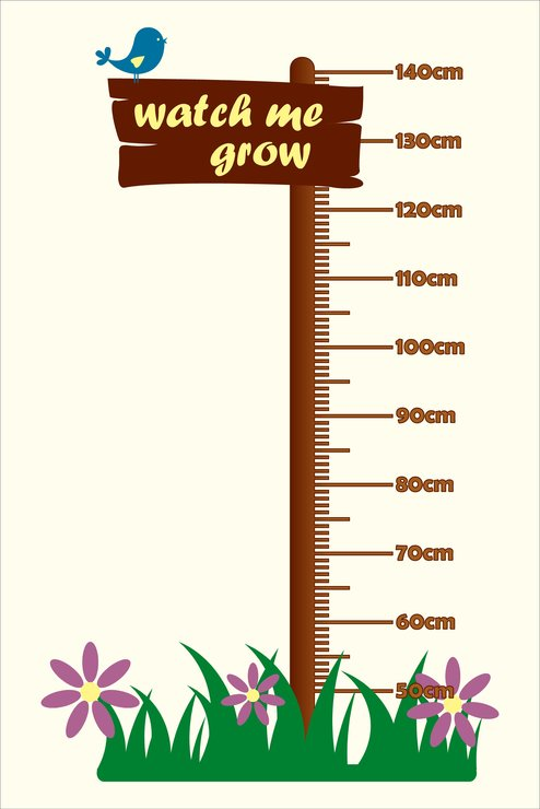 Watch me grow growth chart by nevertheless canvas and wall art also hello pretty buy design rh hellopretty