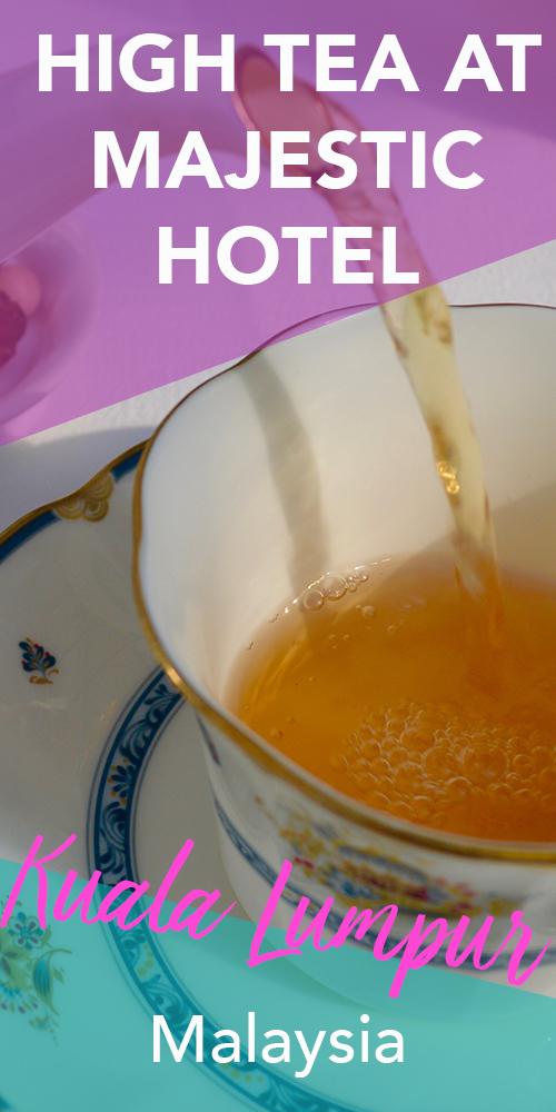 High Tea at the Majestic Hotel, Kuala Lumpur | Hello Raya Blog