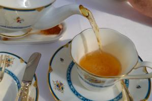 High Tea at the Majestic Hotel in the Orchid Conservatory (Kuala Lumpur)