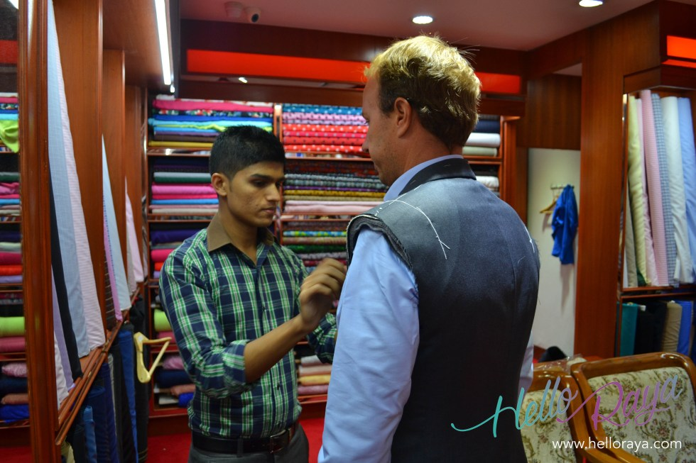 Getting a Suit Made | 20 Things to do in Bangkok, Thailand | Hello Raya Blog