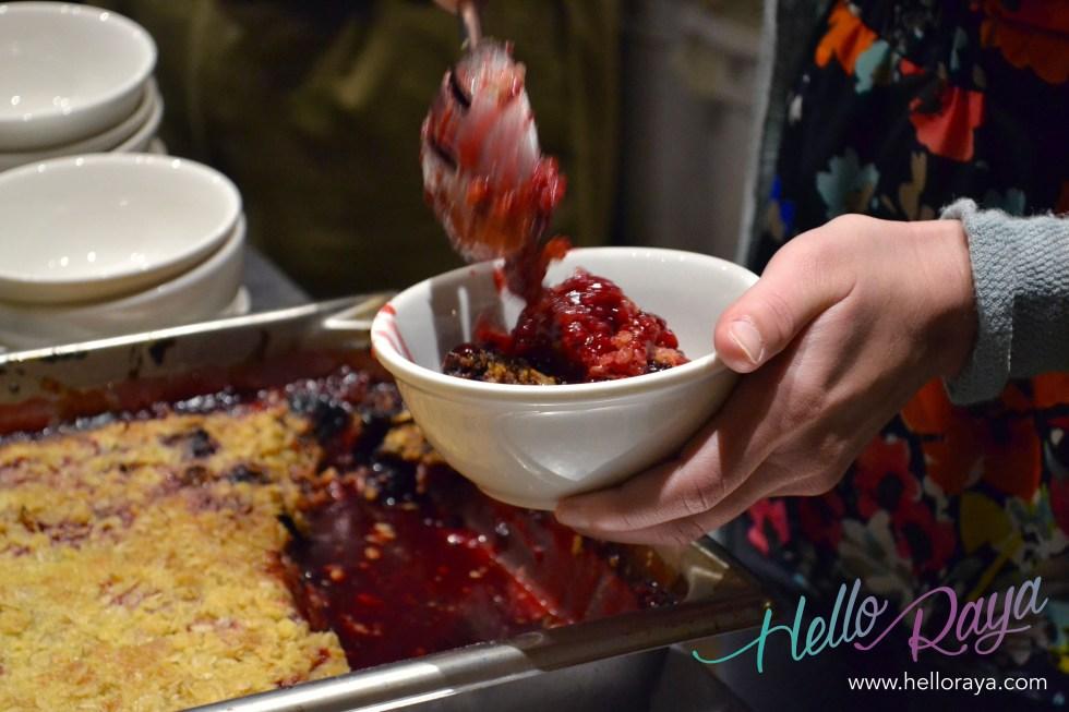 Blackberry & Orange Crumble Happy Girl Kitchen in Monterey, California | Hello Raya Blog