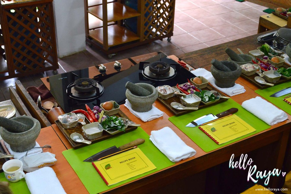 A Malaysian Cooking Class in KL | Lazat Cooking Class | Individual Work Stations | Hello Raya Blog