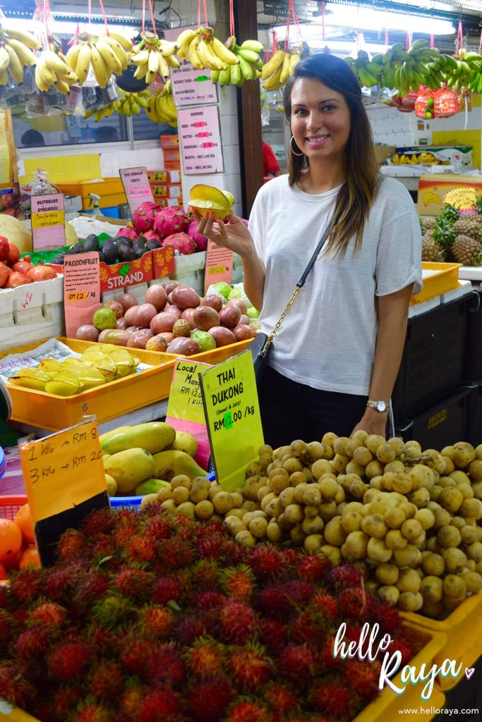 A Malaysian Cooking Class in KL | Lazat Cooking Class | Fruit Stall | Hello Raya Blog