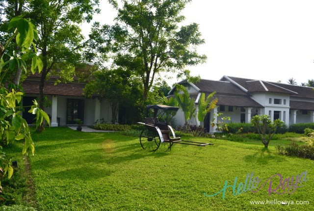 The Garden at the Sofitel Luang Prabang (Laos) | Hello Raya Blog
