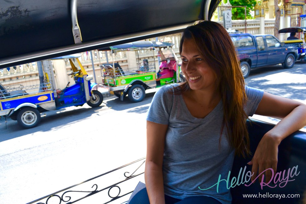 Tuk Tuk | 20 Things to do in Bangkok, Thailand | Hello Raya Blog