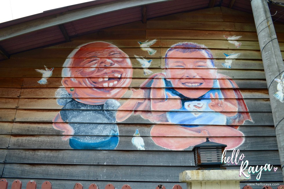 Street Art at the Clan Jetties | 12 Things to do in Penang & Georgetown | Hello Raya Blog