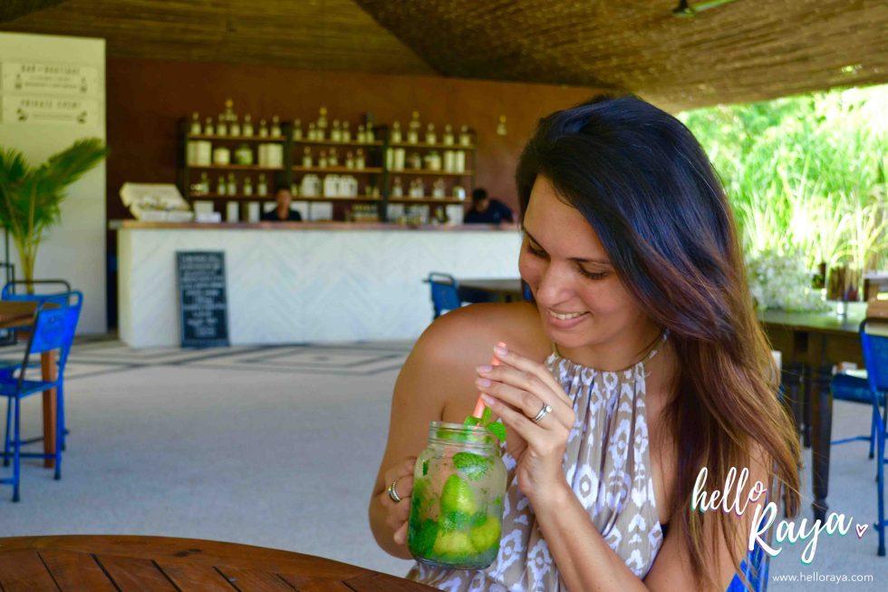 Enjoying a Mojito | Chalong Bay Rum Distillery in Phuket Thailand | Hello Raya Blog