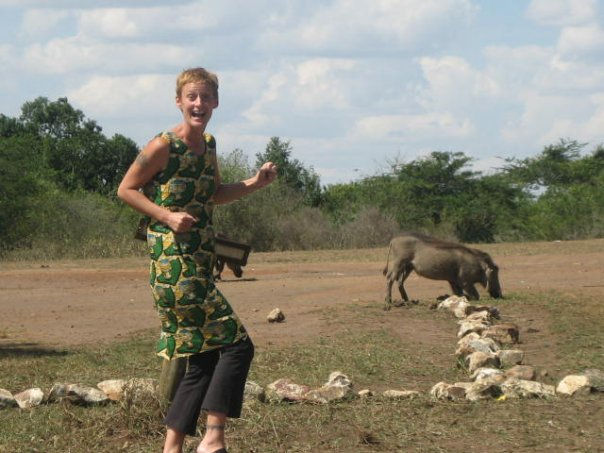 Leslie in Lake Mburo | The Real Uganda | Hello Raya Blog