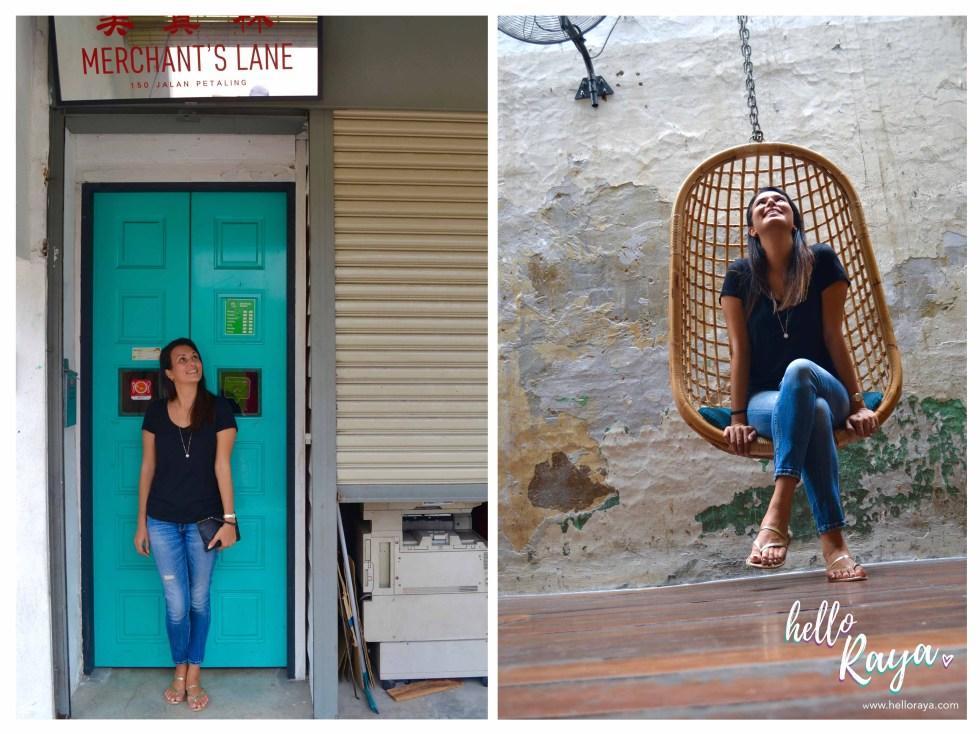 Instagrammable Cafe in Kuala Lumpur Malaysia - Merchant's Lane   Hello Raya Blog