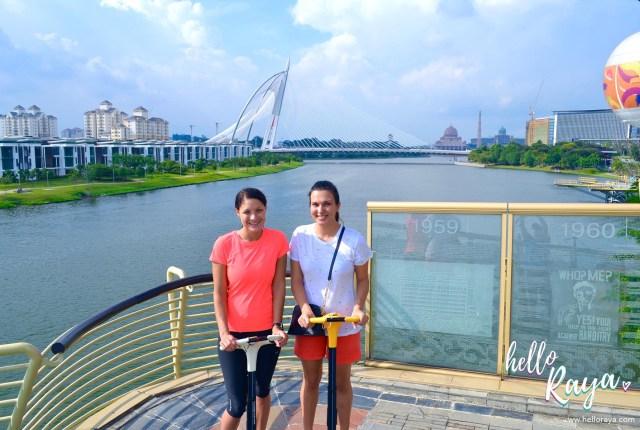 Exploring Putrajaya on a Segway | Kuala Lumpur, Malaysia | Hello Raya Blog
