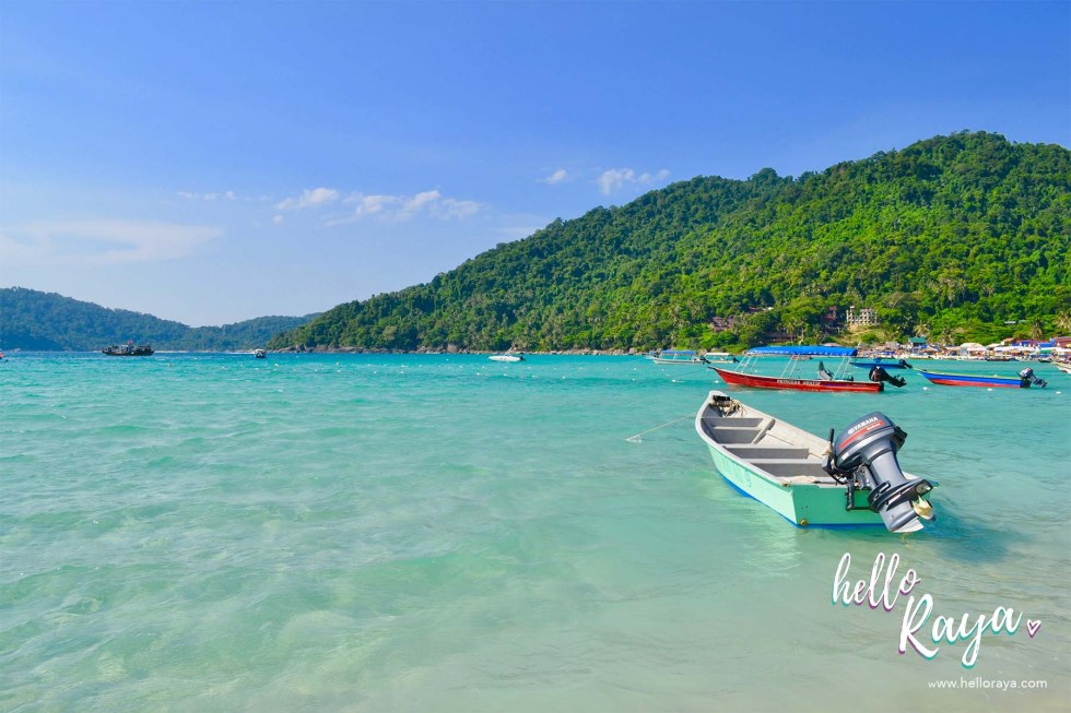 Travel Guide to Visiting the Perhentian Islands - Perhentian Kecil - Long Beach - Hello Raya Blog