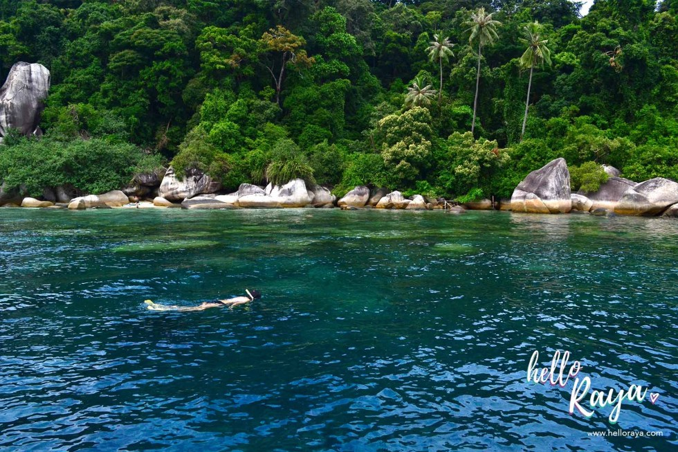 Travel Guide to Visiting the Perhentian Islands - Snorkelling - Hello Raya Blog