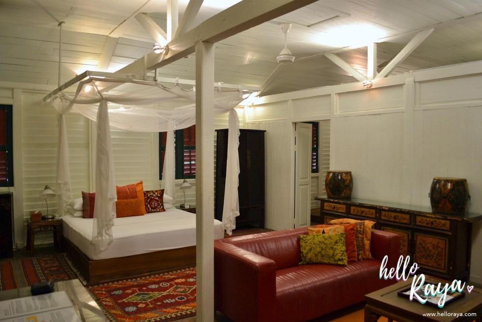 Temple Tree at Bon Ton Langkawi - Colonial House Room | Hello Raya Blog