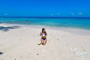 Coconut Trees & Clear Blue Waters at Freddies Resort in Sabang Island (Pulau Weh), Indonesia
