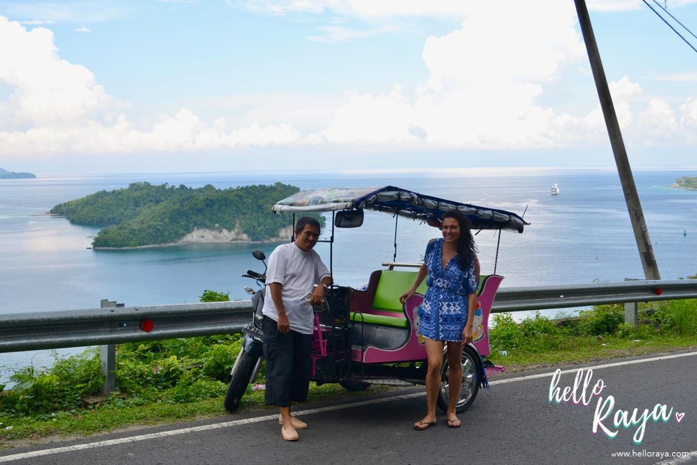 Incredible Things to do in Pulau Weh - Ride a Becak | Hello Raya Blog