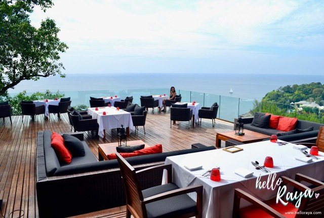 Phuket Restaurant at Paresa Resort Phuket - Talung Thai Cliff Top View | Hello Raya Blog