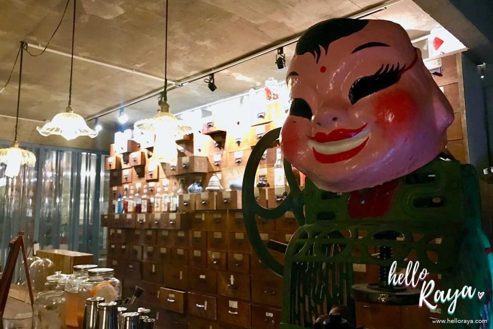 Deceased Bar KL - Speakeasy Bar in KL | Hello Raya Blog