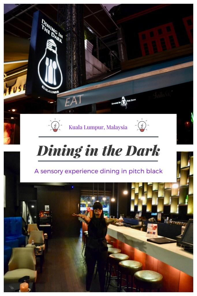 Dining in the Dark KL in Kuala Lumpur, Malaysia | Hello Raya Blog