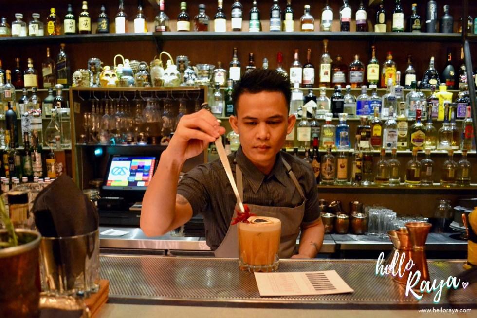 P&C Cocktail Bar Kuala Lumpur | Speakeasy Bar in Kuala Lumpur | Hello Raya Blog
