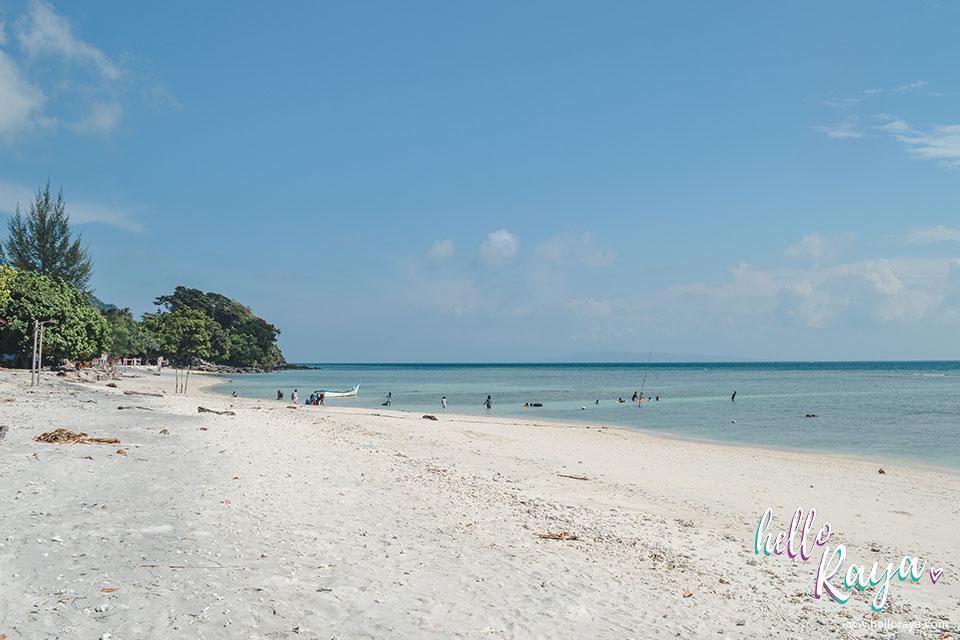 Pulau Weh Beach - Pantai Putih | Hello Raya Blog