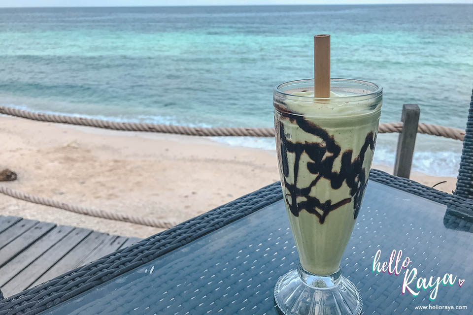 Places to Eat in Pulau Weh   Avocado Smoothie   Hello Raya Blog