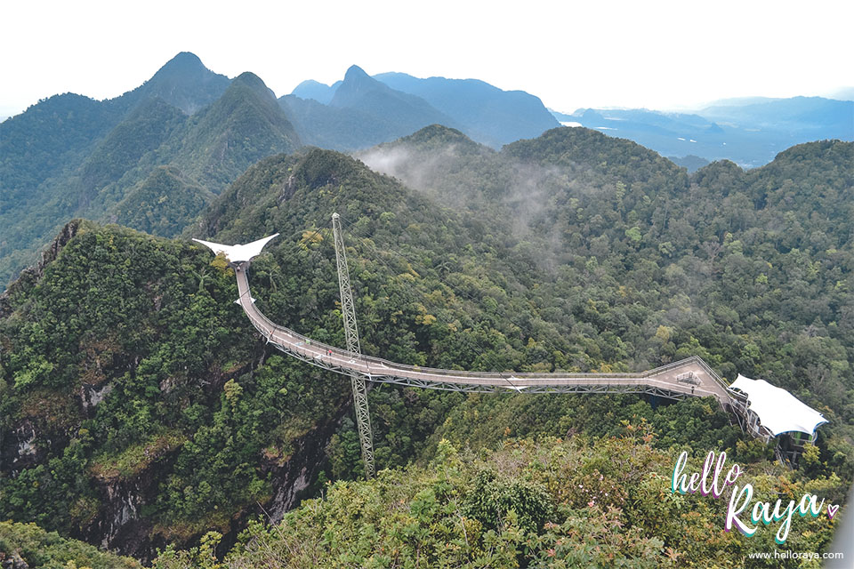 Unique Things to do in Langkawi - Langkawi Sky Bridge | Hello Raya Blog