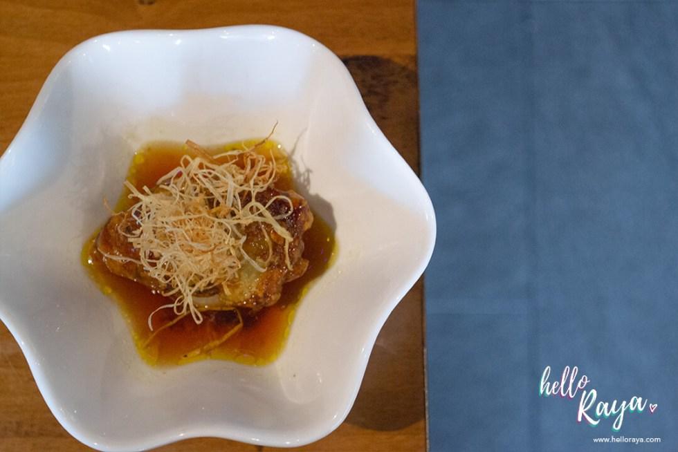 Uroko Japanese Restaurant KL - Foie Gras Daikon   Hello Raya Blog