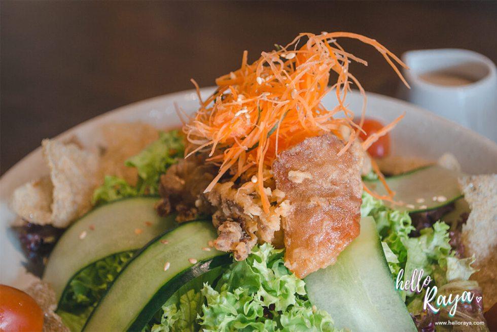 Uroko Japanese Restaurant KL - Uroko Salad | Hello Raya Blog