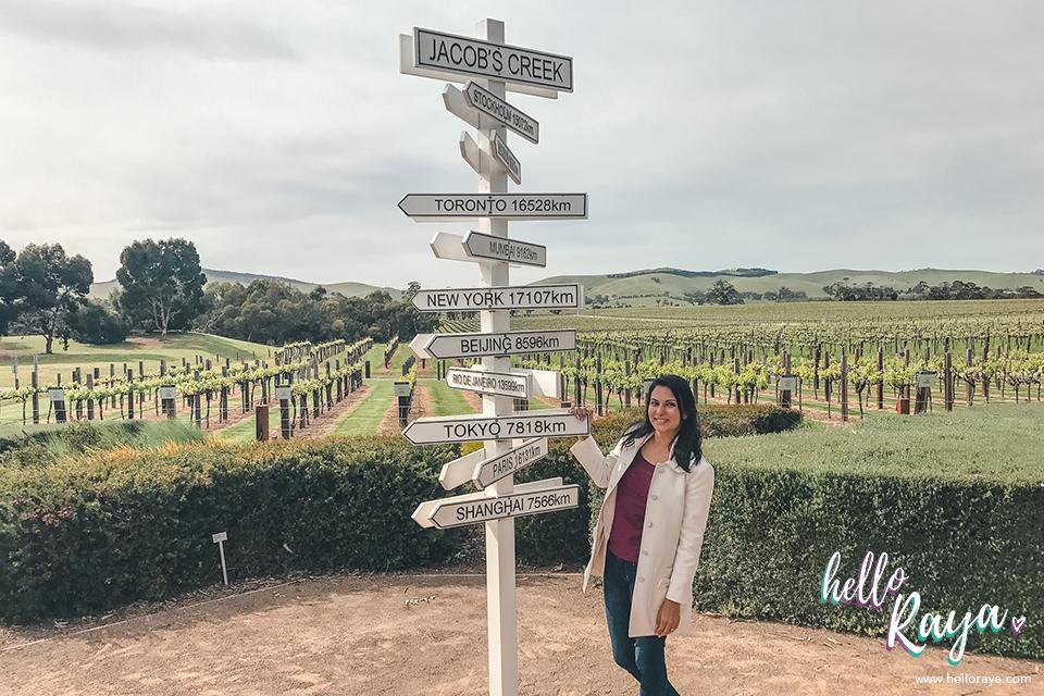 Barossa Valley Wineries - Jacobs Creek Winery   Hello Raya Blog