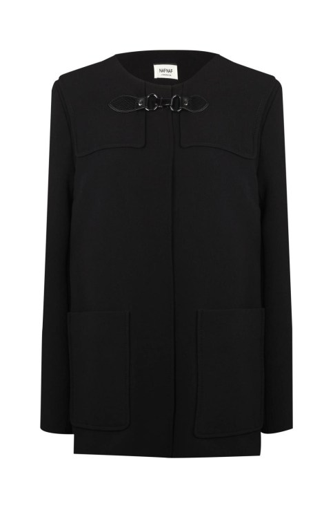 Manteau boucle de Naf Naf