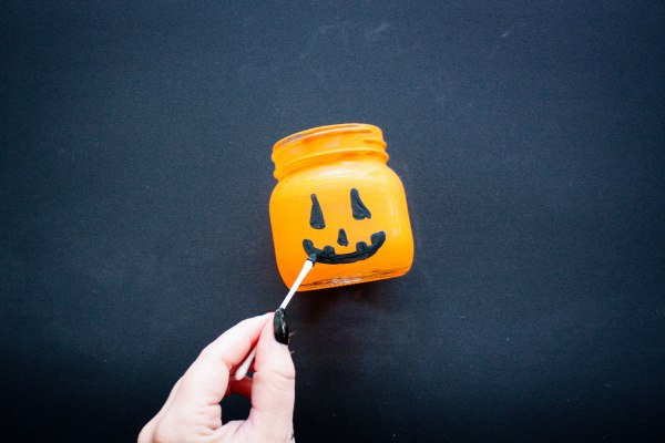 Halloween Candy and Candle Holder DIY - 3