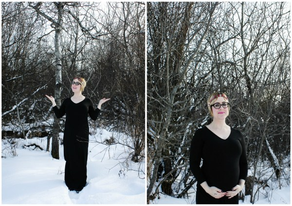 Winter Maternity Shoot - 1