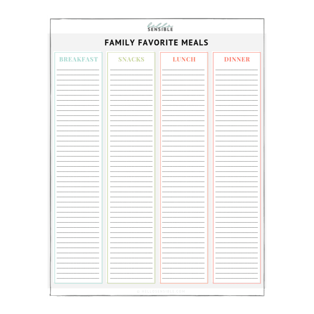 Diy Magnetic Chore Chart Customizable Chore Chart Template
