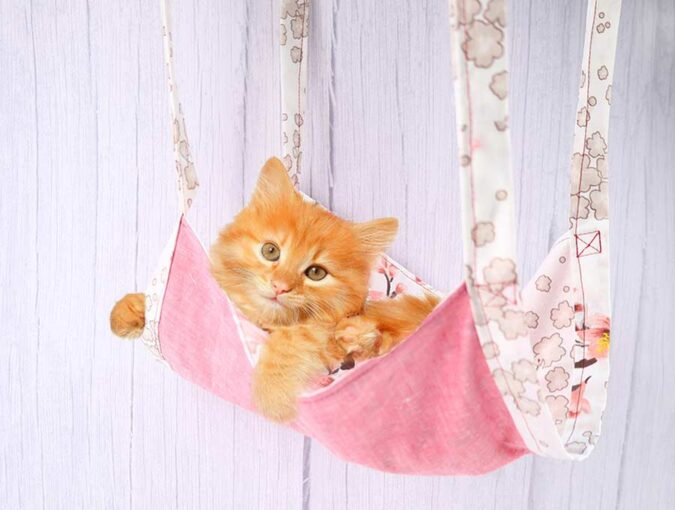 DIY Cat Hammock - Free Sewing Pattern with Video