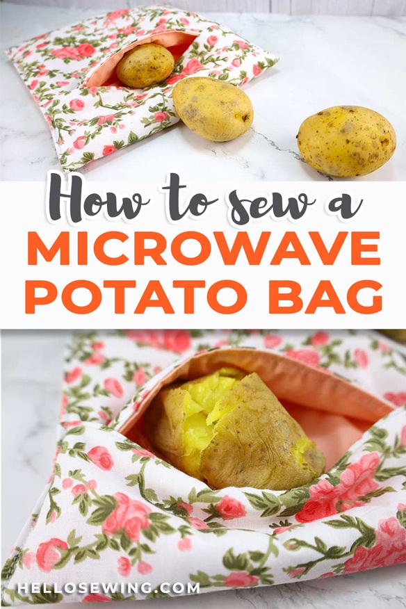 Sew a Microwave Potato Bag - Video Tutorial