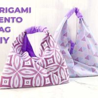 Easy Origami Tote Bag - Sewing Tutorial