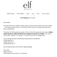 e.l.f. Cosmetics Limited Edition Holiday Boxes Available Now