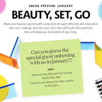 Play! by Sephora January 2017 Full Spoilers: Box #435 + #443 + #450 + #468 + #476