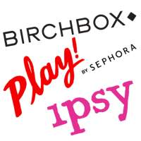 Sephora PLAY! vs Birchbox vs Ipsy - December 2016 $10 Beauty Boxes!