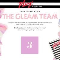 Play! by Sephora March 2017 Theme Spoilers + First Item Spoiler!