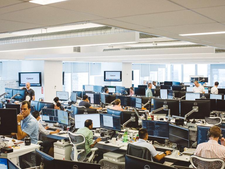 IEX stock exchange floor