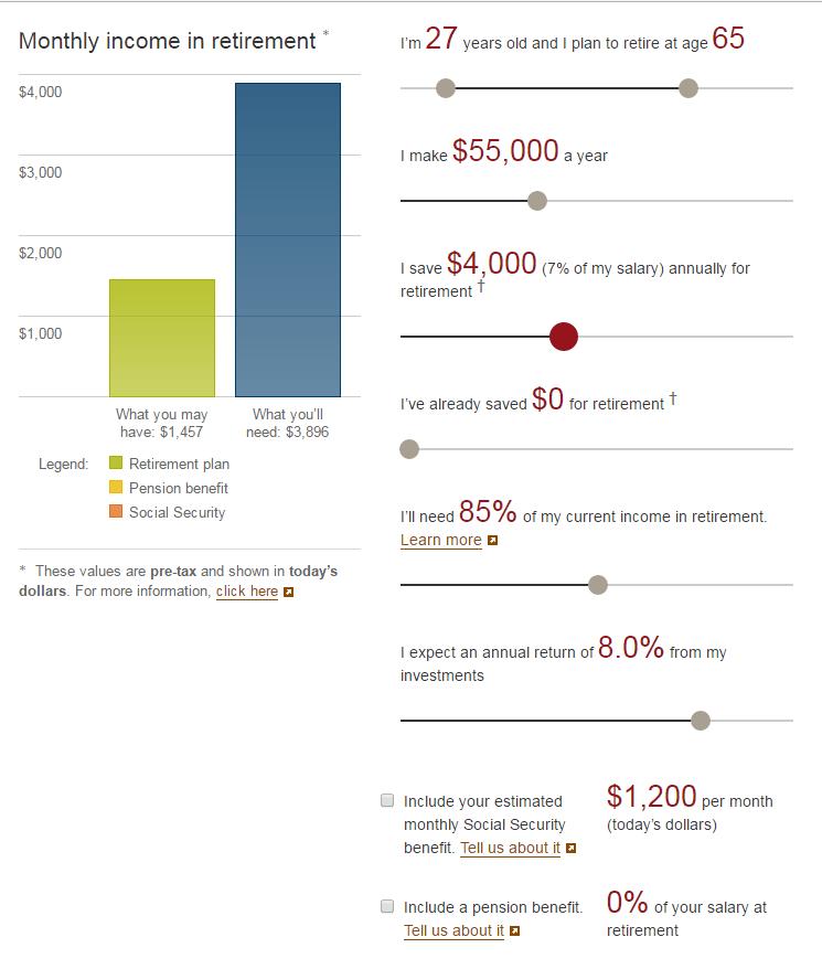 401k calculation 1