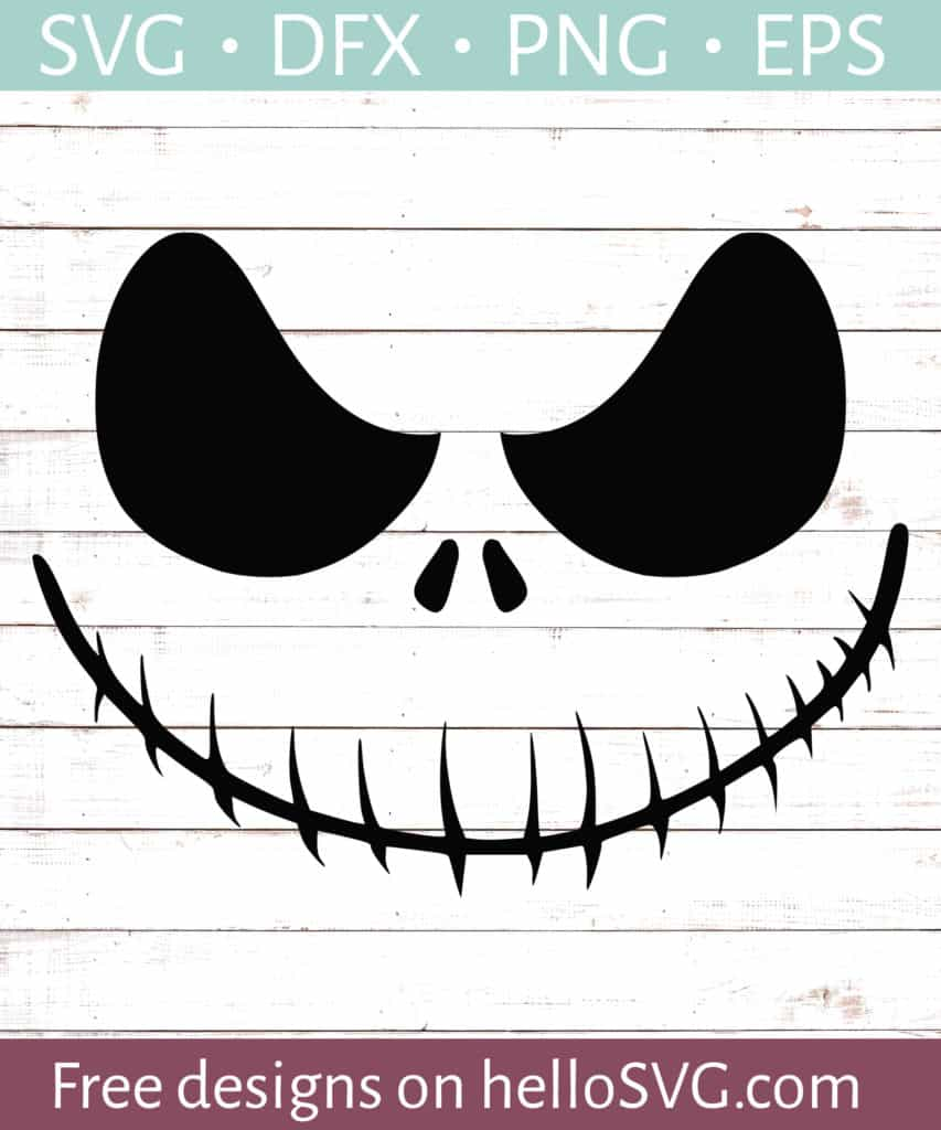 Download Nightmare Ghoul Smiling SVG - Free SVG files | HelloSVG.com
