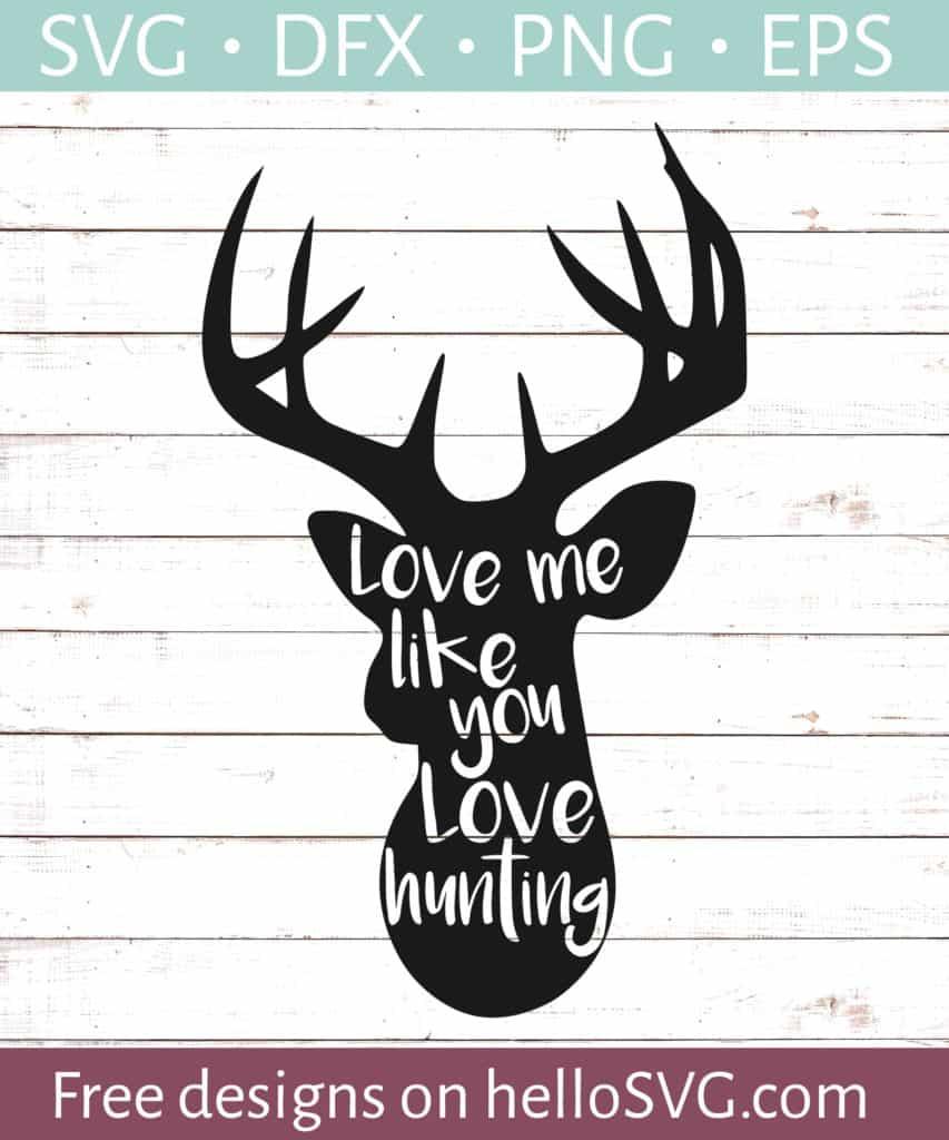 Download Hunting Love #1 SVG - Free SVG files   HelloSVG.com