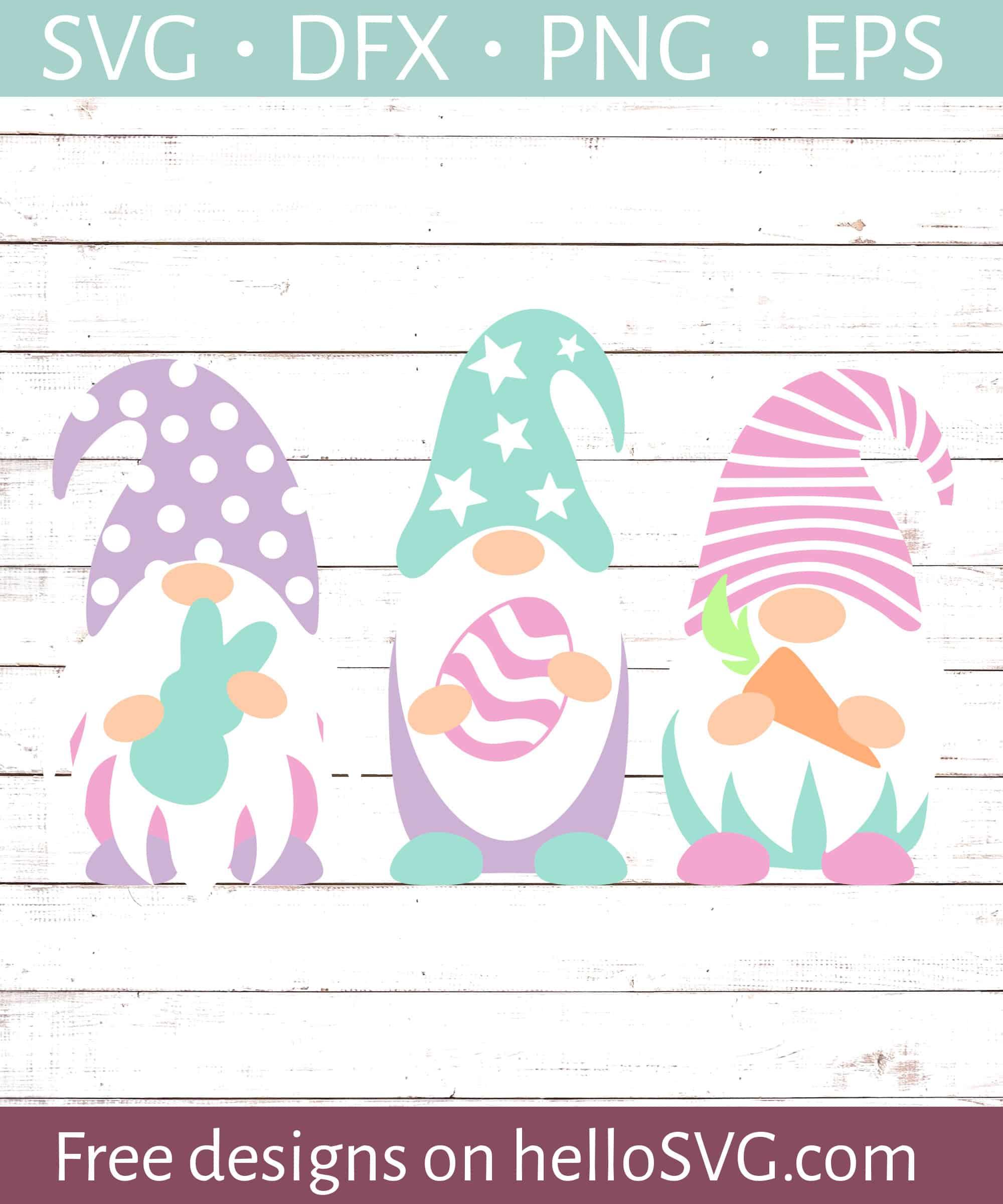 Free Gnome Svg : gnome, Easter, Gnomes, Files, HelloSVG.com