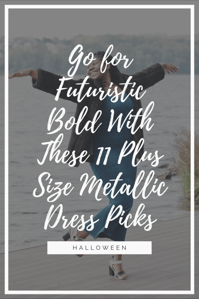 A plus size metallic dress adds a certain type of elegance and boldness to it. If you want to stand out for your daring fashion choices, they're a great choice.