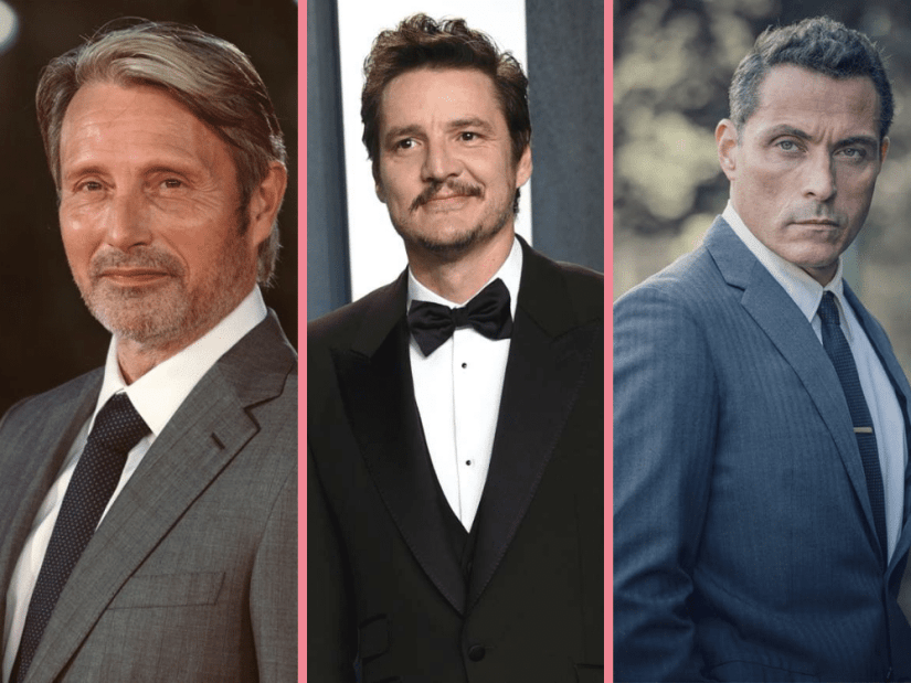 Mads Mikkelsen, Pedro Pascal and Rufus Sewell