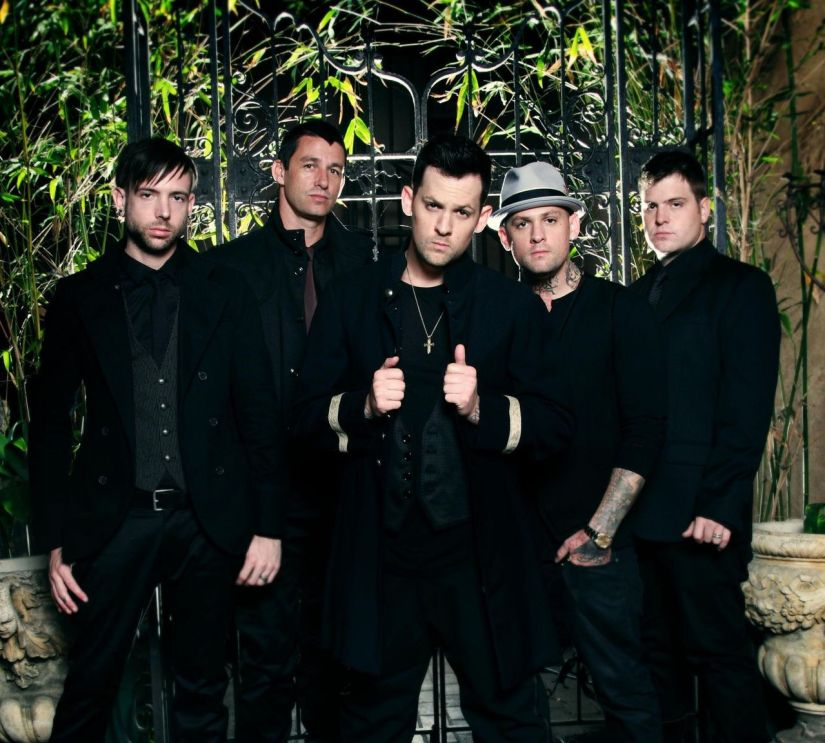 """A totally early 2000s image of the band, Good Charlotte. In my pre-teen and teen years I was madly in love with Joel and Benji, AKA """"the Madden brothers"""""""