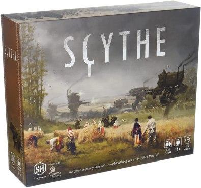 Scythe single player board games