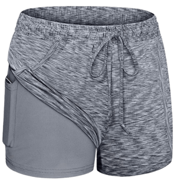 Blevonh Women Yoga Running Shorts | S-3XL